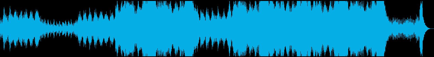とにかくひたすら美しいアンビエントの再生済みの波形