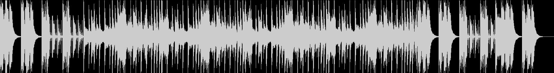 エレクトロニカルオーケストラ Aの未再生の波形