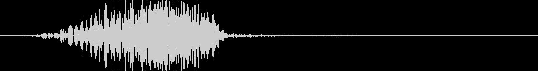 トランジション フラッシュ24の未再生の波形