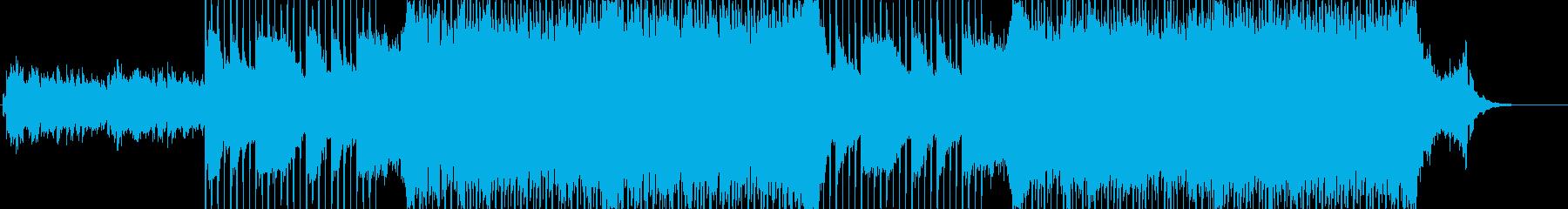 企業VP向け、爽やかポップ4つ打ち16aの再生済みの波形