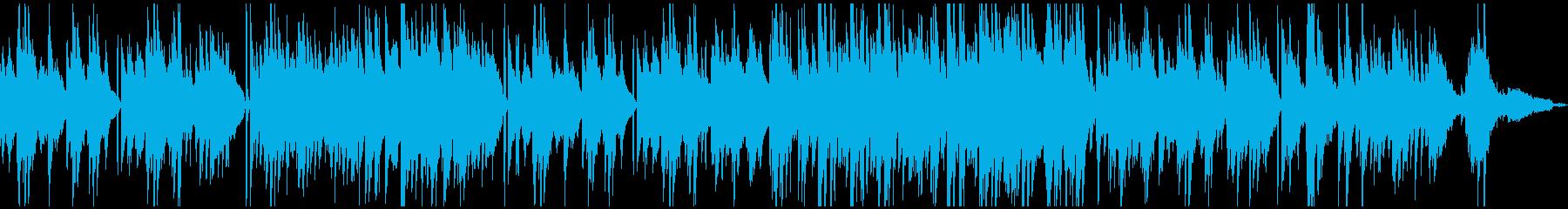 シックな雰囲気の大人のピアノバラードの再生済みの波形