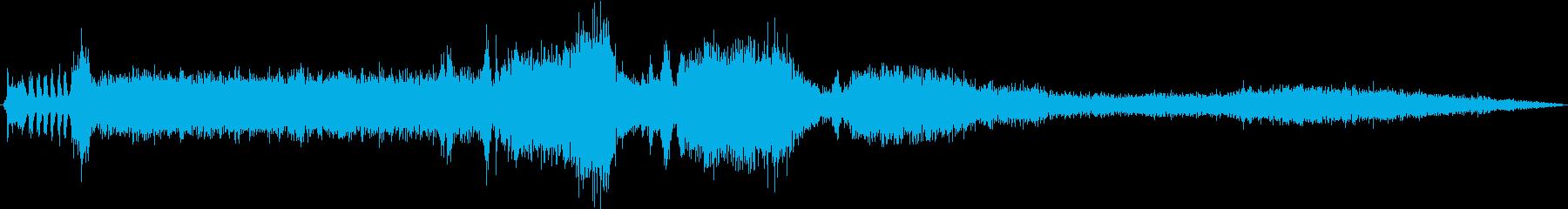 Macダンプトラック:Ext:開始...の再生済みの波形