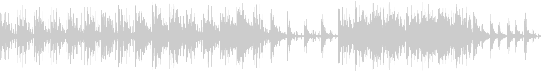 ドワーフの集落【ループ素材系】の未再生の波形