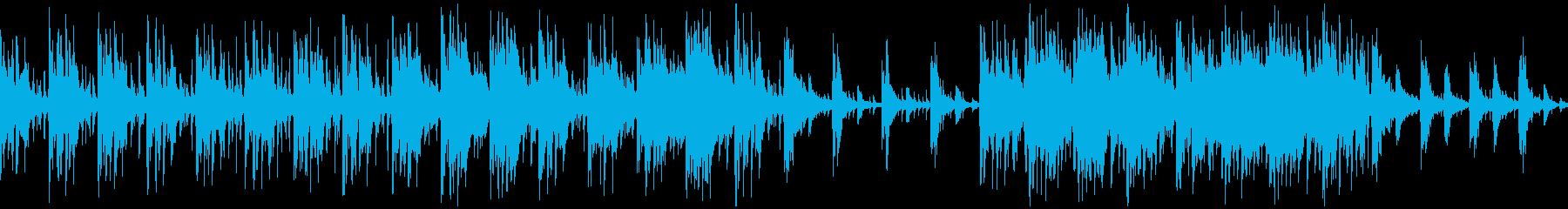 ドワーフの集落【ループ素材系】の再生済みの波形