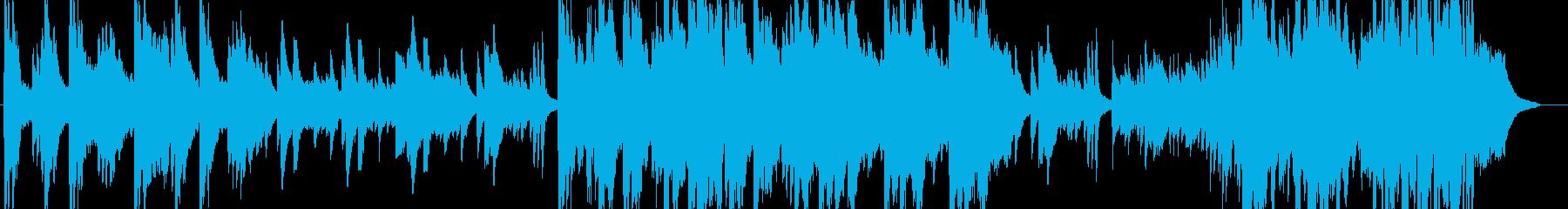 どこか懐かしい室内楽風の曲の再生済みの波形