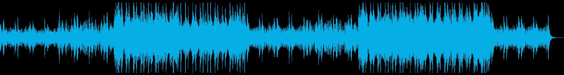 企業VP系 明るいオーケストラの再生済みの波形
