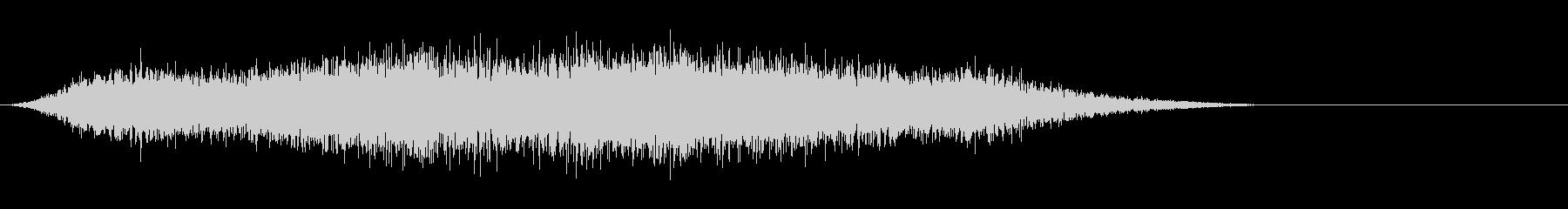 タイトルバック ホラー 10の未再生の波形