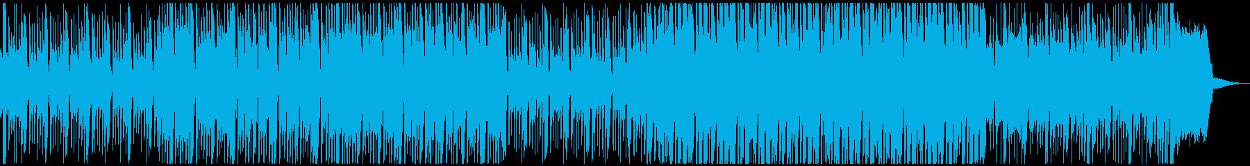コミカルで楽しいトロピカル風ジングルの再生済みの波形