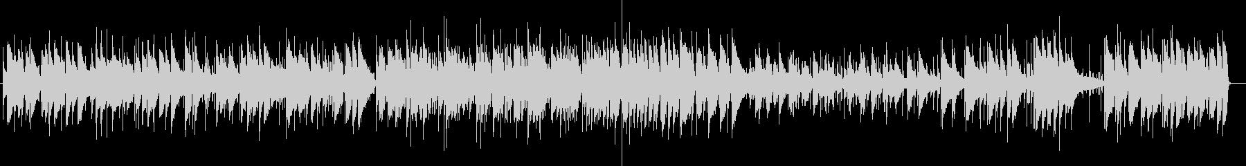 唱歌のジャズピアノ の未再生の波形