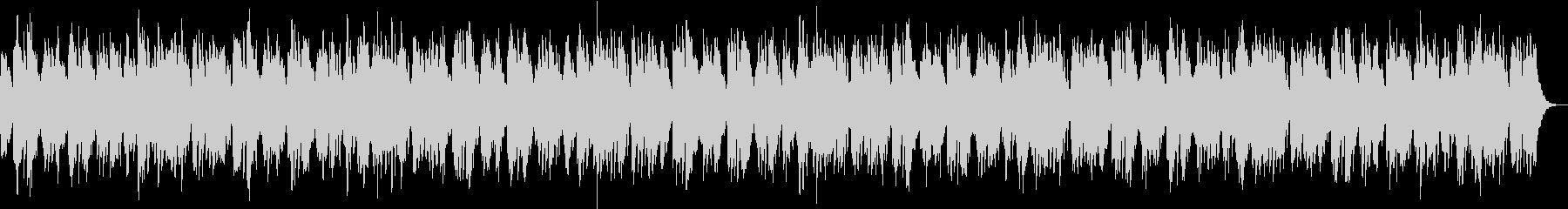 ゆったりした映像に合うヒーリングBGMの未再生の波形