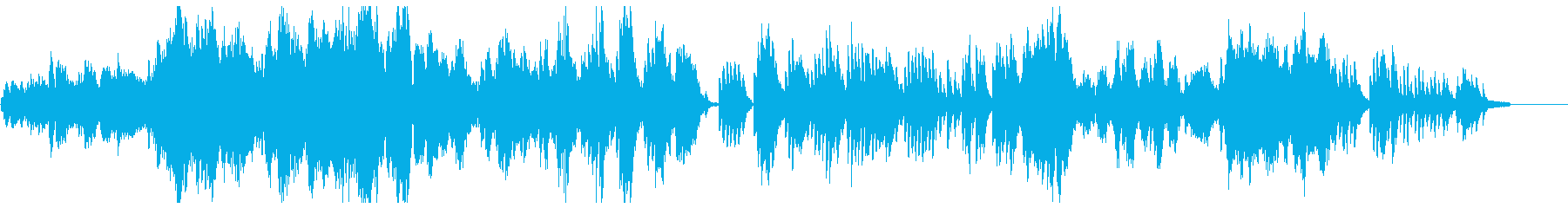 ドビュッシー「夢(夢想)」の再生済みの波形