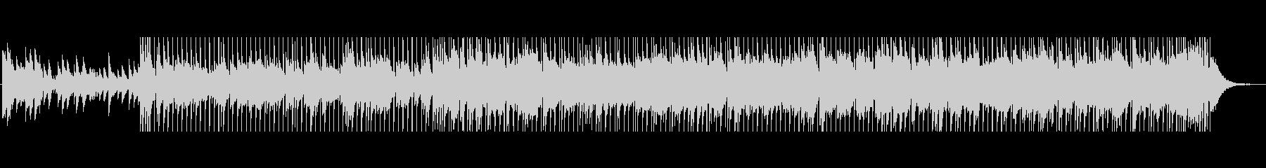 ピアノカントリーポップBGMの未再生の波形