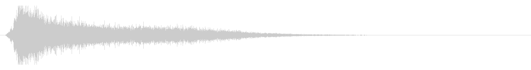 サスペンスピアノ音_3-1の未再生の波形