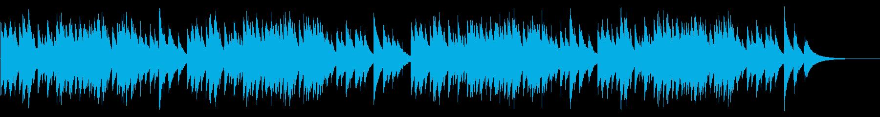雪 72弁オルゴールの再生済みの波形