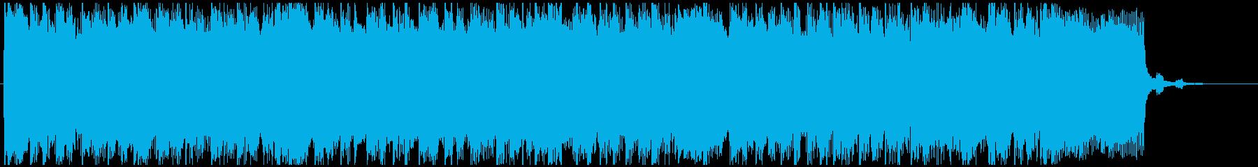 ビートとパンチの効いたエレキギター...の再生済みの波形