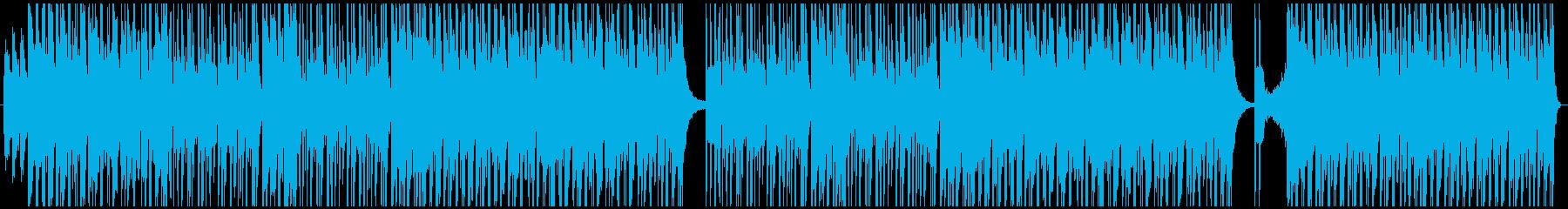 古いダンスフロアーの再生済みの波形
