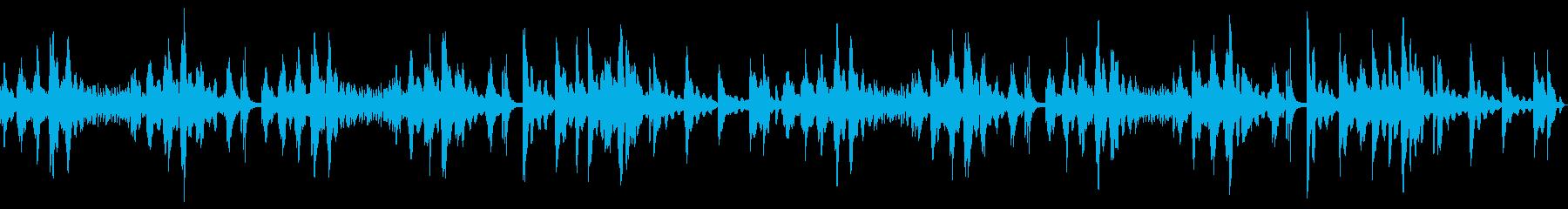 【ピアノソロ】優しく奏でるピアノBGMの再生済みの波形