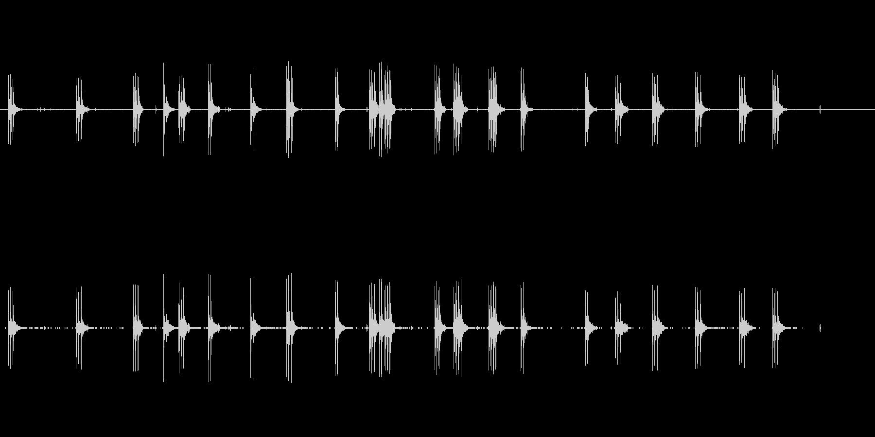 ミトライユバースト1の未再生の波形