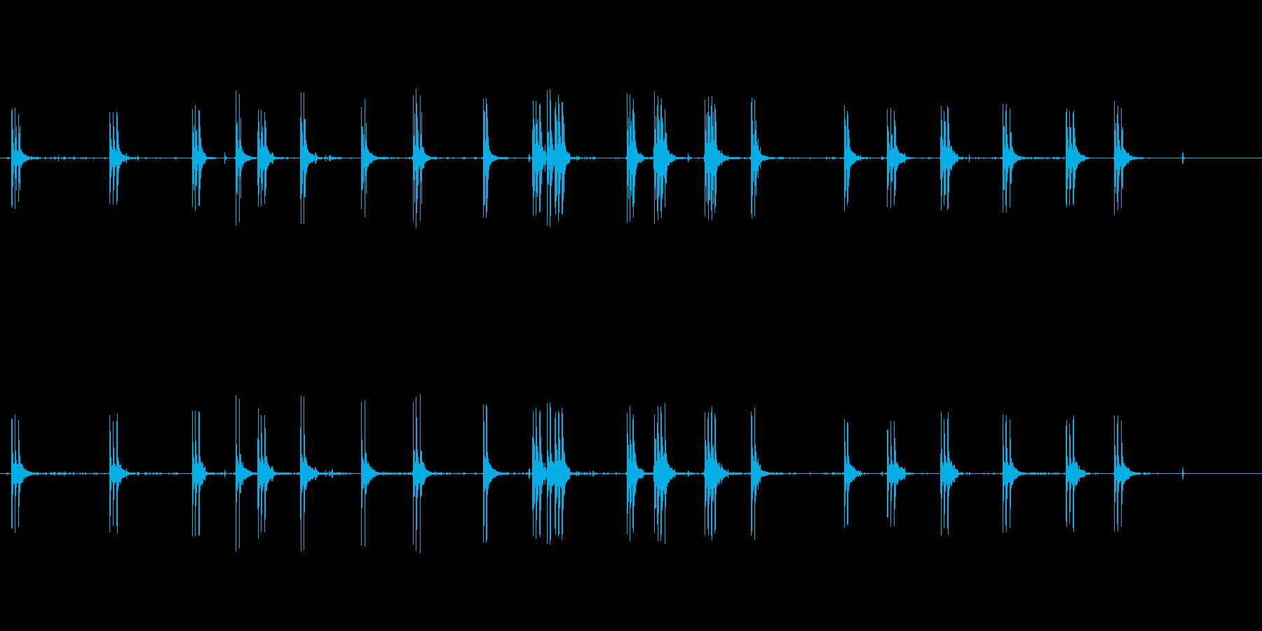 ミトライユバースト1の再生済みの波形