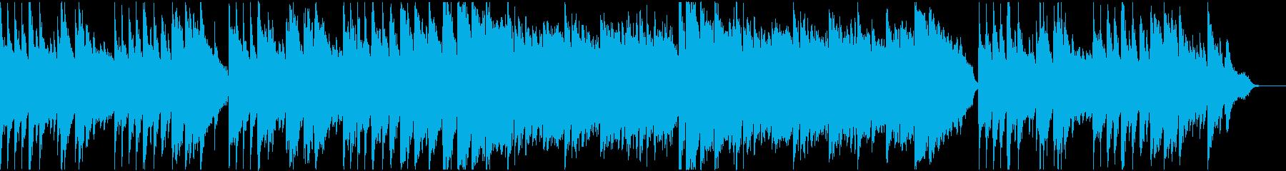 ピアノ主体のキラキラしたヒーリングの再生済みの波形