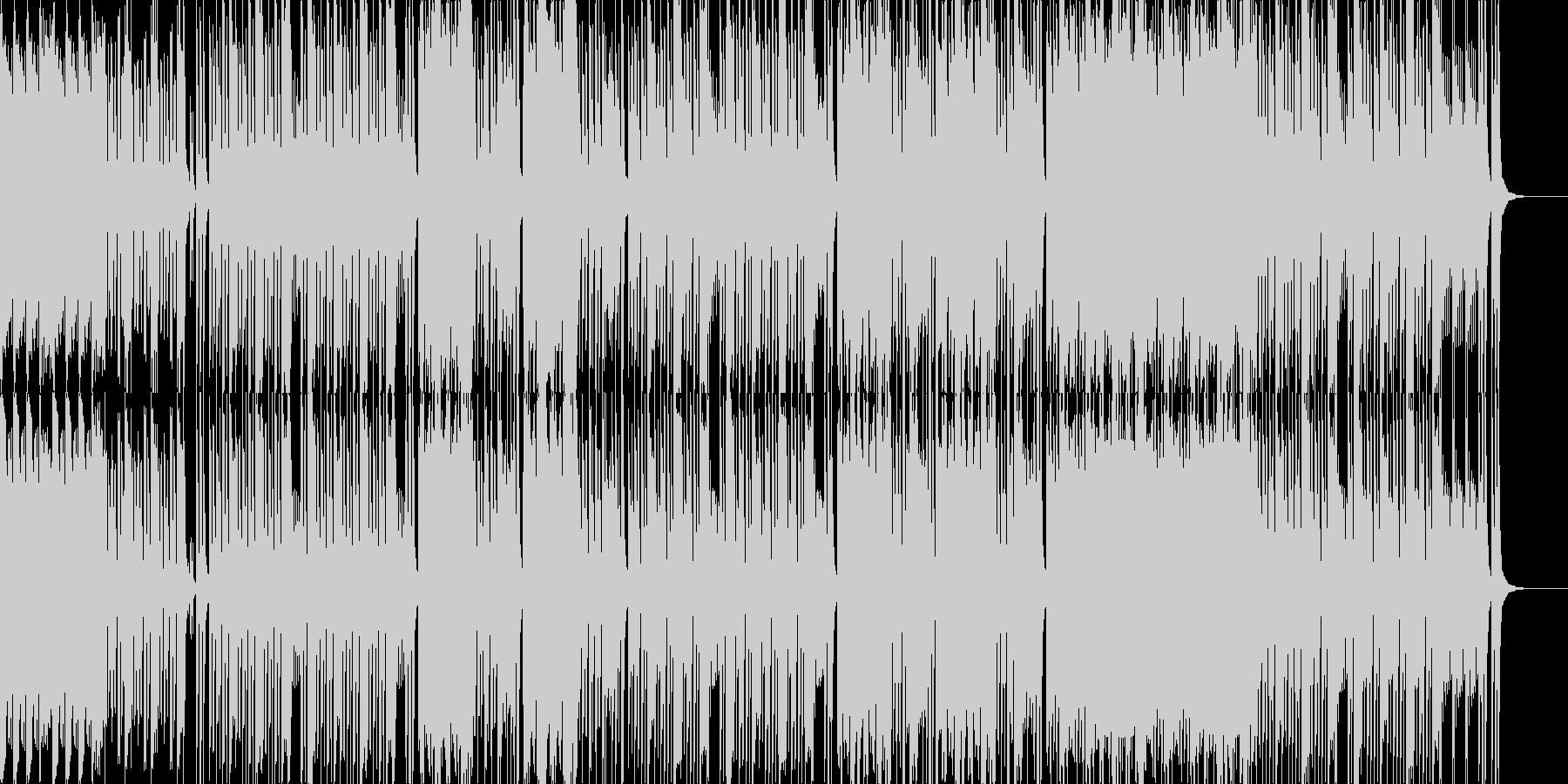 おちゃめなガイコツくん ハロウィンBGMの未再生の波形
