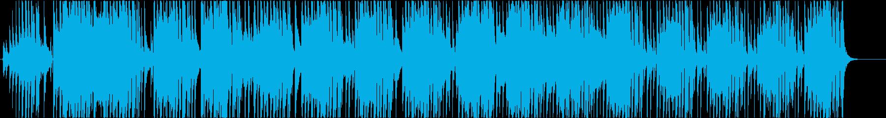 ファンキーでブルージーな和風セッションの再生済みの波形