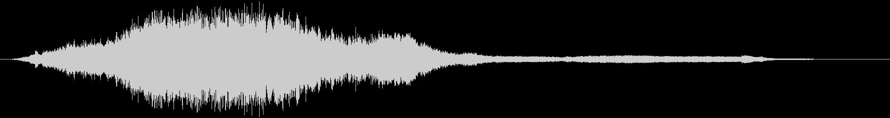【ホラー】ベルが響き渡るダークな空間_2の未再生の波形