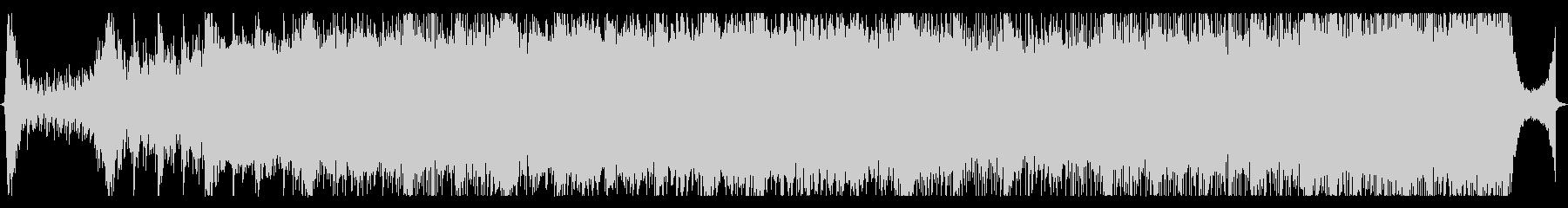 現代の交響曲 電気音響シンフォニー...の未再生の波形
