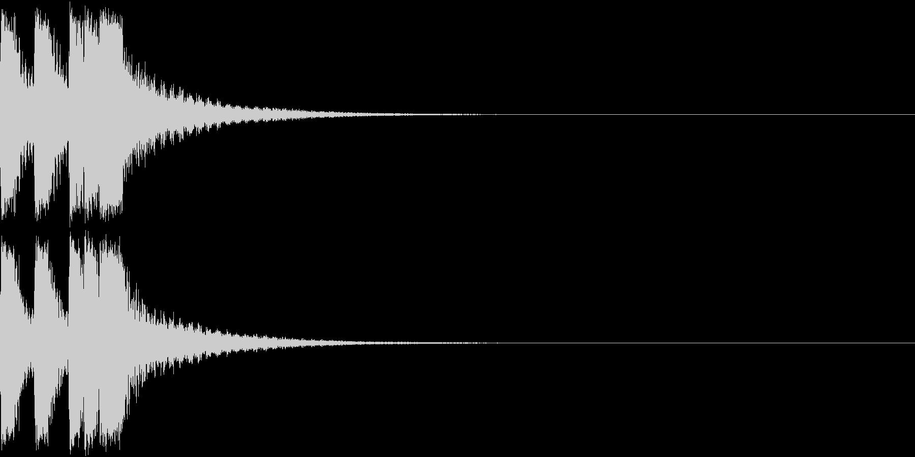 ファンファーレ 当たり 正解 合格 09の未再生の波形