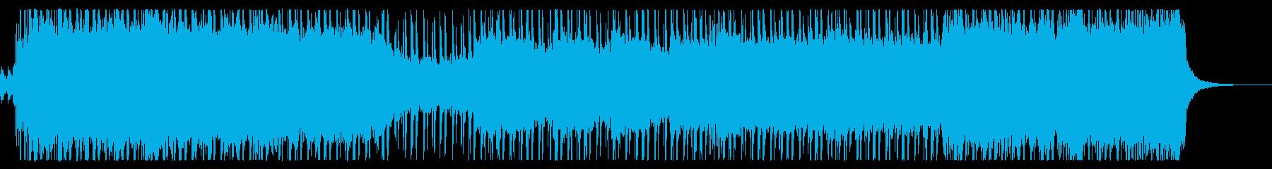 明るく爽やかなパンクロックの再生済みの波形