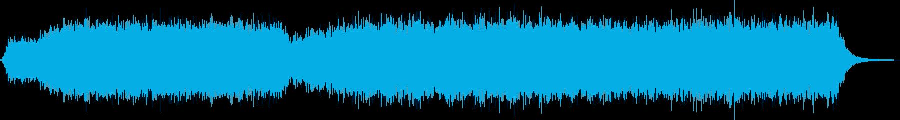 劇伴 壮大な電子アンビエントの再生済みの波形