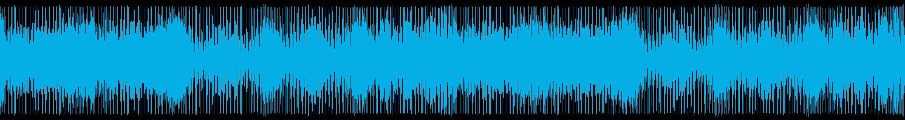 テクノポップ、シンセウェーブ:ループの再生済みの波形