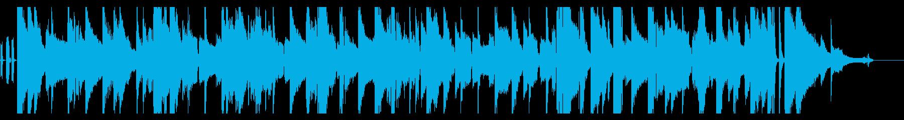 【45秒】渋いブルースの再生済みの波形