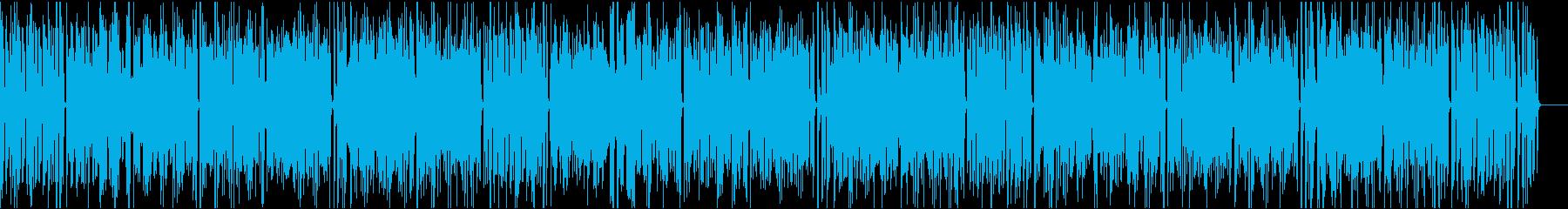おしゃれイケイケ/静かめ/イントロ9秒の再生済みの波形