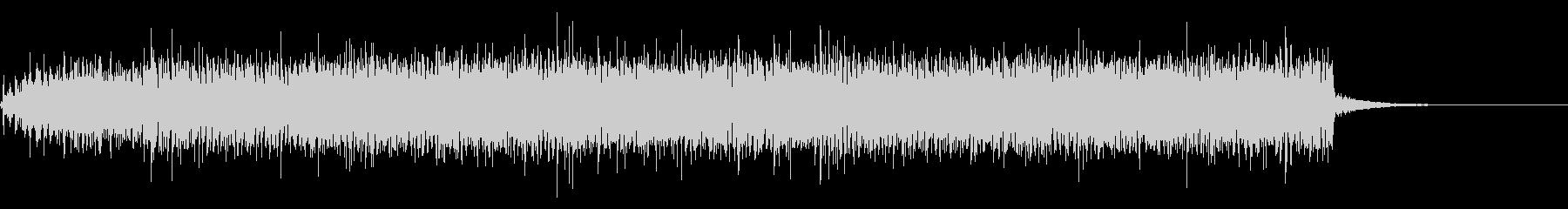 古いムービープロジェクターの回転音+Fxの未再生の波形