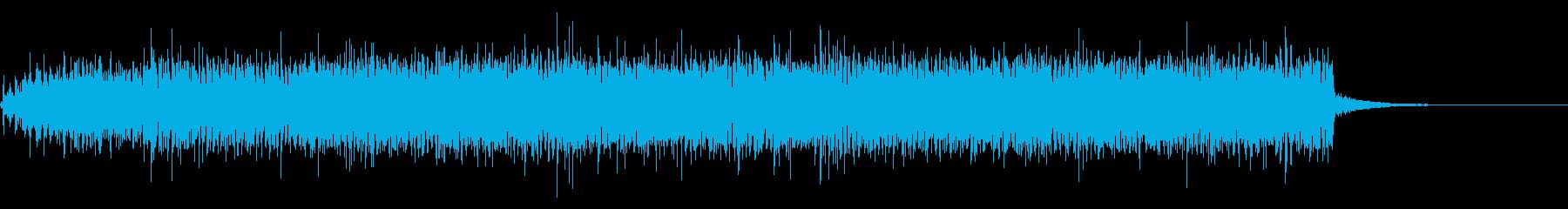 古いムービープロジェクターの回転音+Fxの再生済みの波形