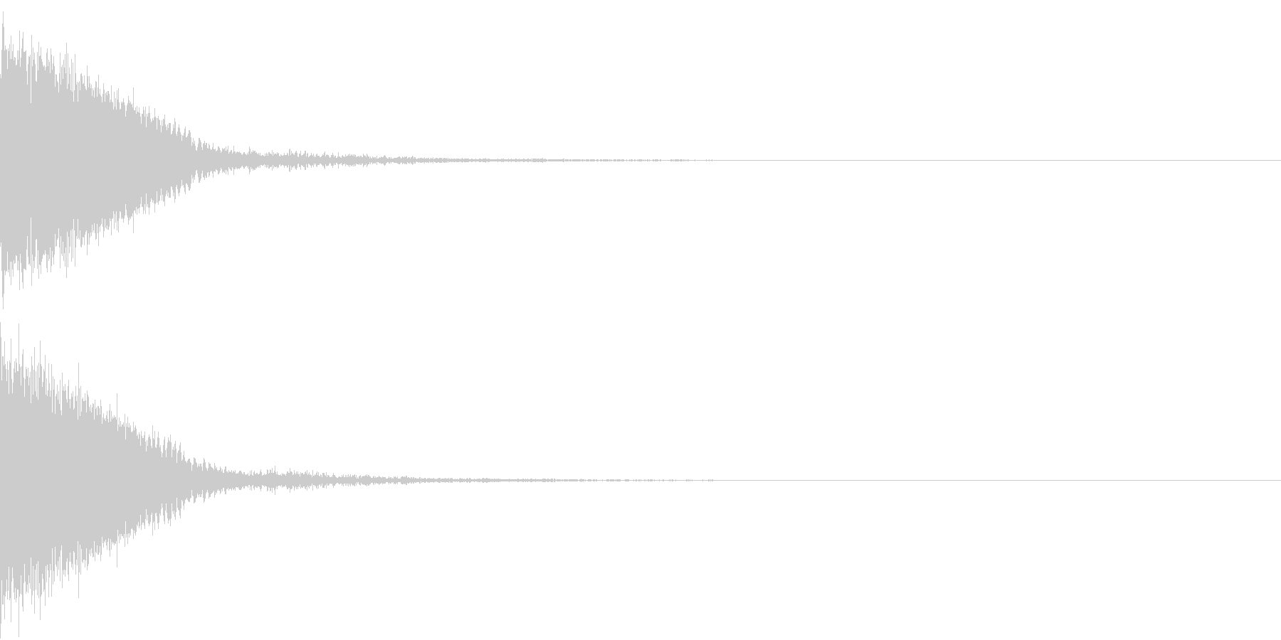 刀 剣 カキーン シャキーン 目立つ16の未再生の波形