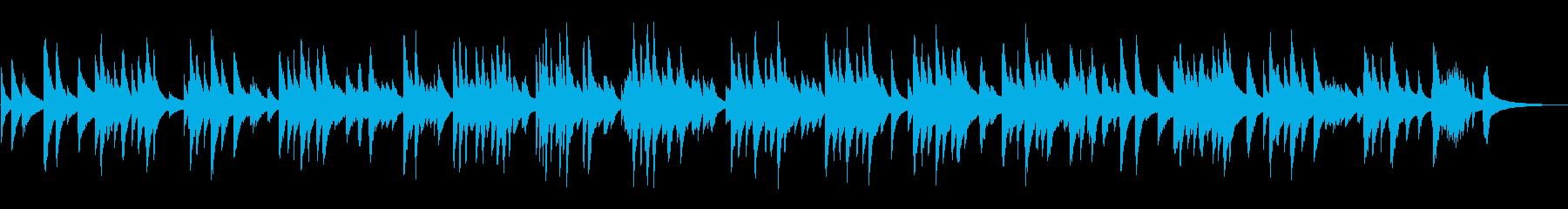 スローで静かなジャズラウンジピアノソロの再生済みの波形