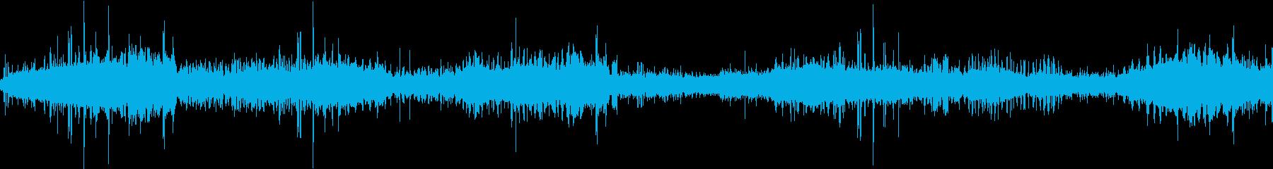 【環境音25分】森と木陰と風、鳥の鳴き声の再生済みの波形