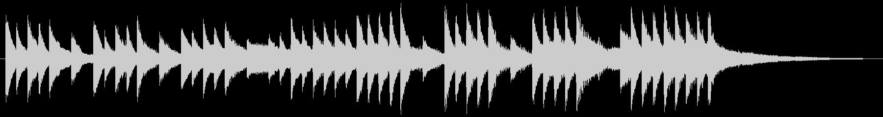 Crying piano jingle's unreproduced waveform