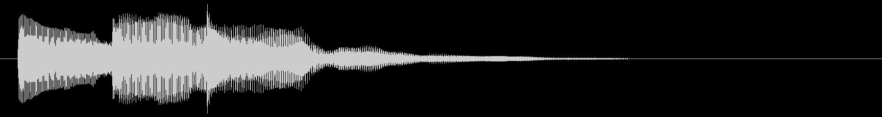 決定 選択 クリック スタート セレクトの未再生の波形