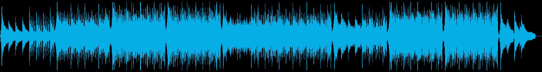 明るく前向きなトロピカルハウスEギター抜の再生済みの波形