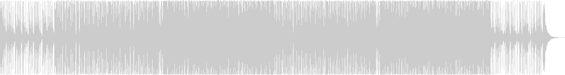 和風エレクトロハウスダンス・三味線尺八箏の未再生の波形