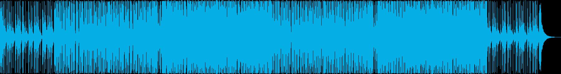 和風エレクトロハウスダンス・三味線尺八箏の再生済みの波形