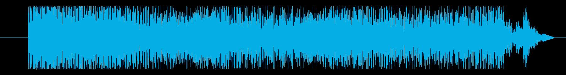 ゲーム 激しいハード02の再生済みの波形