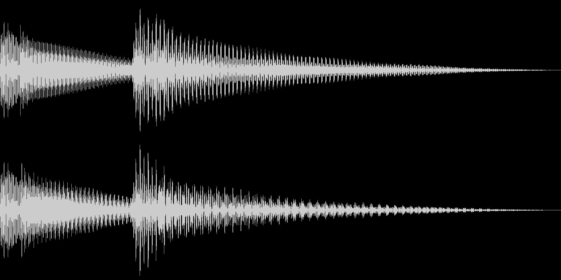 ピコン (アラート・起動音・正解音)の未再生の波形