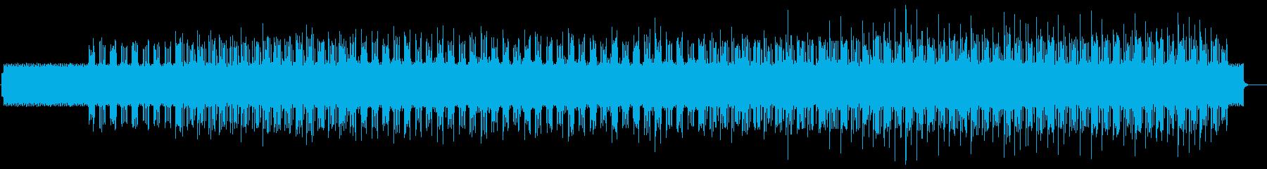 虹 爽やかで切ないテクノポップ 雨の再生済みの波形