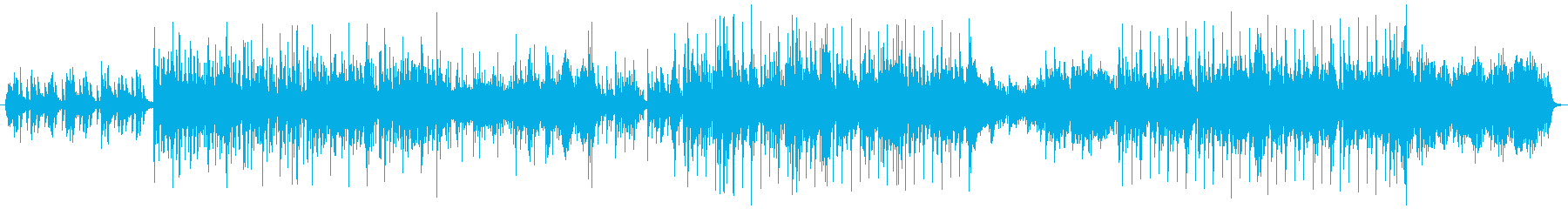 ピアノ+箏+シンセベースのインスト曲の再生済みの波形
