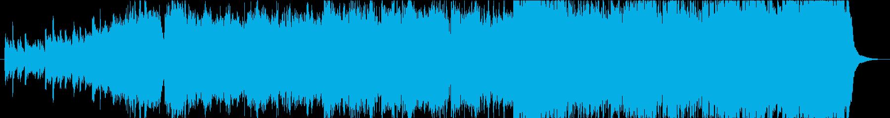 壮大な明るいOP.ED想定曲の再生済みの波形