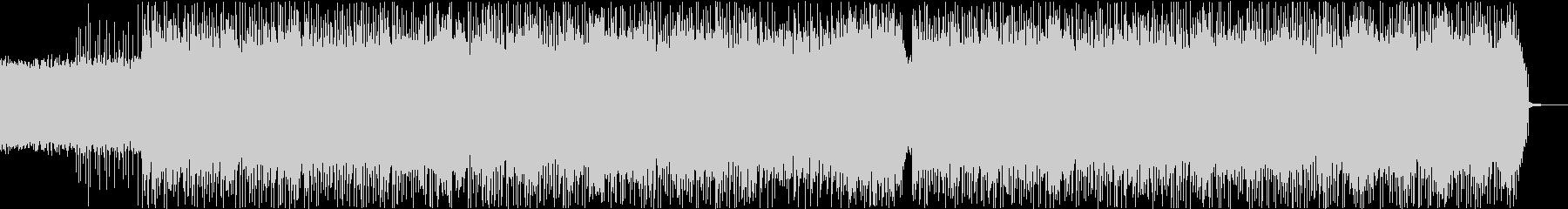 シンプルでハードなオルタナティブロックの未再生の波形